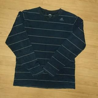 アディダス(adidas)のアディダス☆ボーダーロンT☆(Tシャツ/カットソー(七分/長袖))
