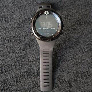 スント(SUUNTO)のSUUNTO CORE オールブラック  SS014279010(腕時計(デジタル))