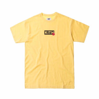 正規品 KITH Treats キス クラシックボックスロゴTシャツ イエロー(Tシャツ/カットソー(半袖/袖なし))