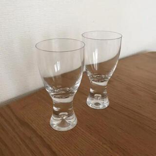 イッタラ(iittala)のイッタラ☆タピオ☆ホワイトワイン☆グラス☆2個(グラス/カップ)