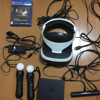 プレイステーションヴィーアール(PlayStation VR)のPSVR(CUH-ZVR2)+PSMove(CECH-ZCM2J)二個無料(家庭用ゲーム機本体)