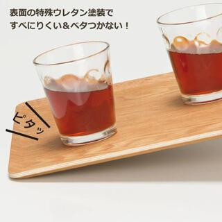 ニトリ(ニトリ)のニトリ人気No.1 滑り止め加工 木製トレーM (ヤナギ)5枚で5000円。(食器)