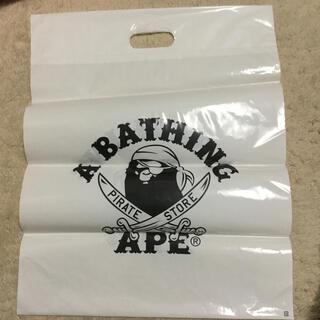 アベイシングエイプ(A BATHING APE)のA BATHING APE/ナイロン袋(エコバッグ)