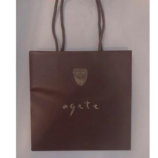アガット(agete)のagete ショップ袋(ショップ袋)