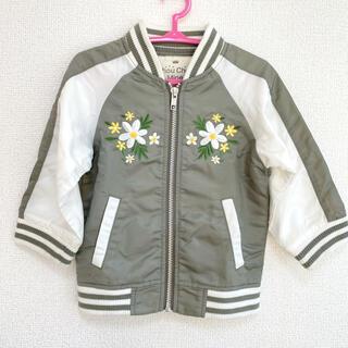 シマムラ(しまむら)の花刺繍 ブルゾン(ジャケット/上着)