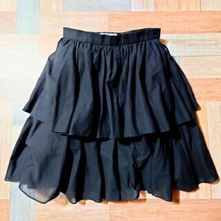 サンローラン(Saint Laurent)のVintage YVES SAINT LAURENT ティアード ミニ スカート(ミニスカート)
