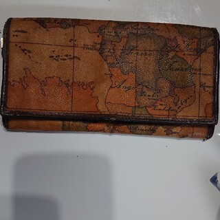 プリマクラッセ(PRIMA CLASSE)のプリマクラッセ 長財布 地図柄 中古(長財布)