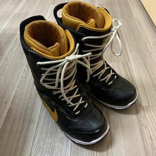 ナイキ(NIKE)のNIKE AIR ズーム怪獣 26cm 黒×茶(ブーツ)