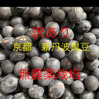 あかげのあん様専用 訳あり 新丹波黒豆 無農薬栽培 1.5キロ(野菜)