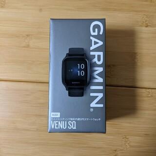 ガーミン(GARMIN)の【新品未開封】garmin venu sq music black/slate(腕時計(デジタル))
