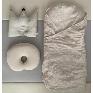 フィセル(FICELLE)のナオミイトウたまごマットおくるみ/王冠まくら/the pillow baby(その他)