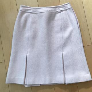 ハロッズ(Harrods)のハロッズ ボックスプリーツ 台形スカート(ひざ丈スカート)