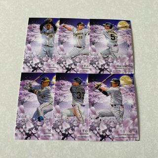 ハンシンタイガース(阪神タイガース)の20BBM 阪神 CROSS BLOSSOMS レギュラーカード6枚セット(シングルカード)