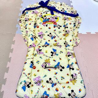 ディズニー(Disney)の[雑貨]ディズニー ベビーミッキー&ミニー ベビーカーシート(ベビーカー用アクセサリー)