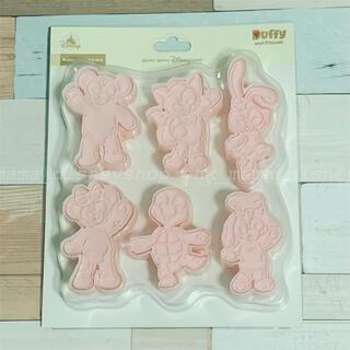 ダッフィー(ダッフィー)の香港ディズニー ダッフィーフレンズ オルメル入り クッキー型(調理道具/製菓道具)