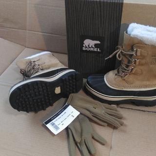 ソレル(SOREL)のソレル カリブー 24㎝ CARIBOU(レインブーツ/長靴)