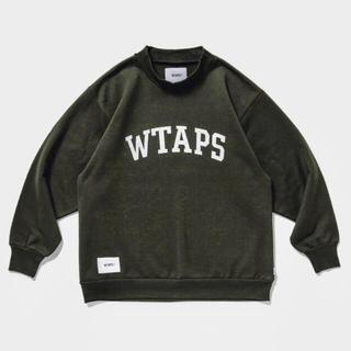 ダブルタップス(W)taps)の20AW WTAPS COLLEGE / MOCK NECK / COPO (スウェット)