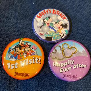 ディズニー(Disney)のアメリカ ディズニー 缶バッチ(その他)