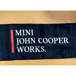 ビーエムダブリュー(BMW)のMINI ⭐︎JOHN COOPER WORKS. オリジナルタオル(非売品)(ノベルティグッズ)