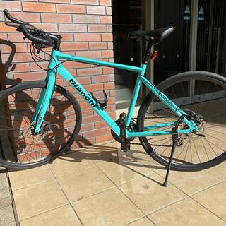 ビアンキ(Bianchi)の美品bianchi roma3 ビアンキ ローマ3 ブルホーン クロスバイク(自転車本体)