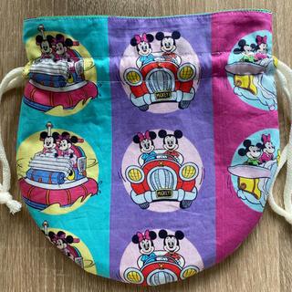 Disney - ミッキー♡ミニー まんまる巾着袋