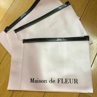 メゾンドフルール(Maison de FLEUR)のメゾンドフルール マスクケース 3枚セット 新品未使用(ポーチ)
