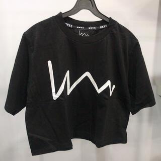 スタイルナンダ(STYLENANDA)のStylenanda スタイルナンダ KKXX ショート丈シンプルロゴTシャツ(Tシャツ(半袖/袖なし))