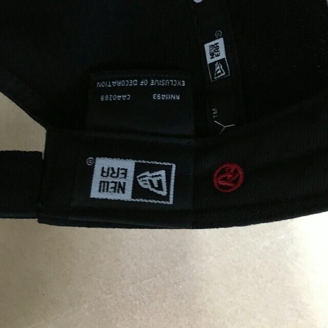 Yohji Yamamoto(ヨウジヤマモト)の新品  人気品 Yohji Yamamoto× newera キャップ メンズの帽子(キャップ)の商品写真