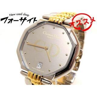 Christian Dior - ディオール 時計 ☆ D45-204 オクタゴン ステンレス コンビカラー