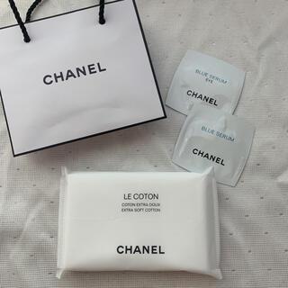 シャネル(CHANEL)のCHANEL コットン 美容液 ショップ袋(コットン)