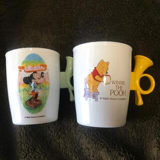 ディズニー(Disney)の象印 レトロ ディズニー ホーローマグカップ(その他)