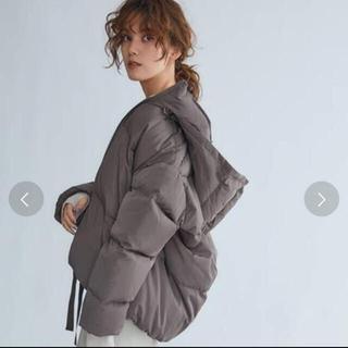 ミラオーウェン(Mila Owen)のMila Owen / ミラ オーウェン 裾リボンダウンジャケット(ダウンジャケット)