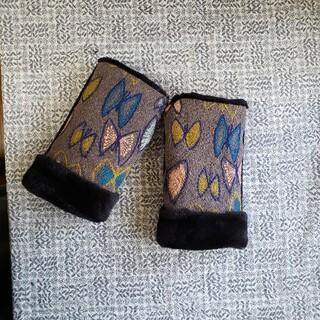 ミナペルホネン(mina perhonen)のふんわりハンドウォーマー ミナペルホネン (手袋)
