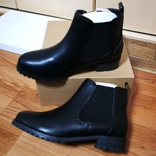 スタディオクリップ(STUDIO CLIP)のstudio CLIP サイドゴアブーツ ショートブーツ(ブーツ)