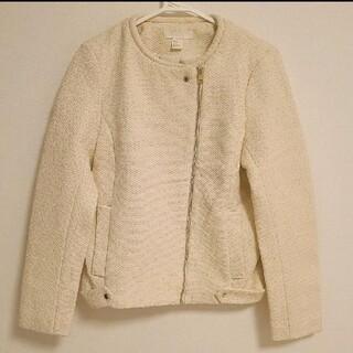 エイチアンドエム(H&M)の新品❣️H&M ノーカラージャケットコート(ノーカラージャケット)