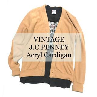 チャンピオン(Champion)のVINTAGE  J.C.PENNEY 70's Cardigan(カーディガン)