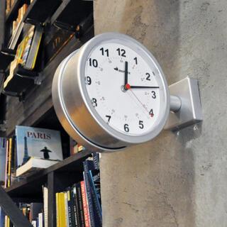 ダントン(DANTON)の新品 ダルトン ダブルフェイスウォールクロック ミニサイズ  170D(掛時計/柱時計)