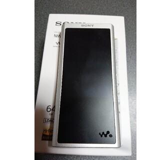 ウォークマン(WALKMAN)のsony nw zx300 シルバー ウォークマン(ポータブルプレーヤー)