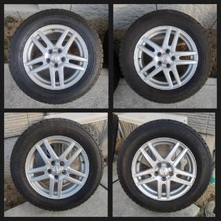 グッドイヤー(Goodyear)のスタッドレスタイヤ アルミホイール 4本セット 1台分(タイヤ・ホイールセット)