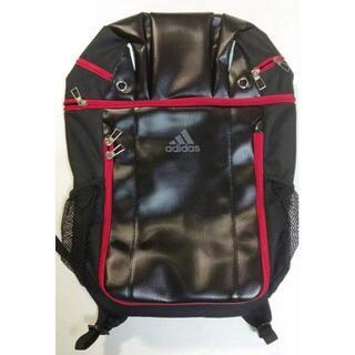 アディダス(adidas)の@アディダスサッカーボール用 3層デイパックボールバック リュック黒×赤(その他)