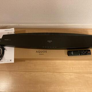 アクオス(AQUOS)のAQUOS サウンドバー AN-SA1(スピーカー)