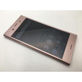 SONY - SIMフリー au XPERIA XZ1 SOV36 ピンク◆美品◆41