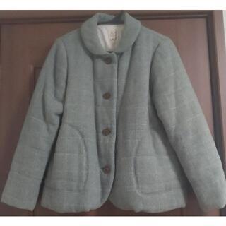 サマンサモスモス(SM2)のSM2 優しいグリーンのコート(ピーコート)