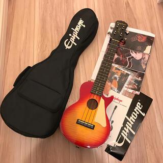 エピフォン(Epiphone)のEpiphone エピフォン ウクレレ レスポール(エレキギター)