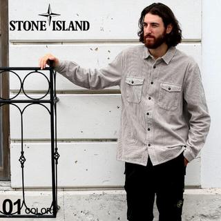 ストーンアイランド(STONE ISLAND)のSTONE ISLAND couduroy shirt コーデュロイシャツ(シャツ)