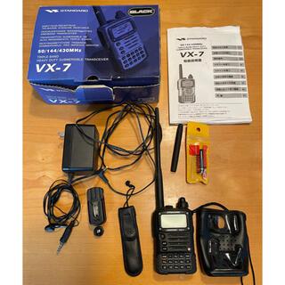 STANDARD VX-7 アマチュア無線機(アマチュア無線)