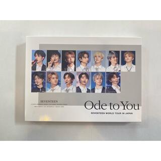 セブンティーン(SEVENTEEN)のOde to you 初回限定版 DVD(アイドル)