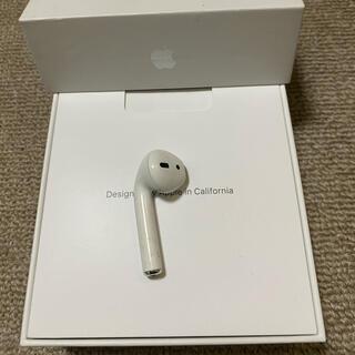 アップル(Apple)のジャンク エアーポッズ AirPods 第一世代 L 左耳のみ(ヘッドフォン/イヤフォン)