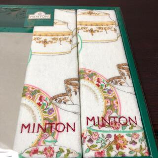 ミントン(MINTON)のMINTON フェイスタオル×2 新品♪(タオル/バス用品)