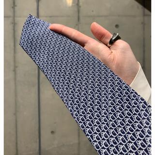 Christian Dior - Christian Dior Oblique Tie NAVY